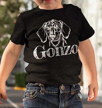Gonzo The Dog Toddler T-shirt