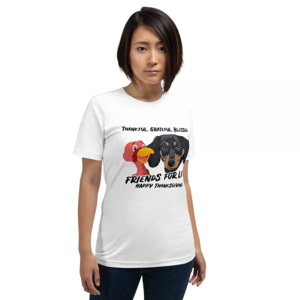 Friends For Life Thanksgiving T-Shirt 5