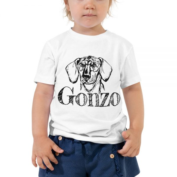 Gonzo The Dog Toddler T-Shirt 2