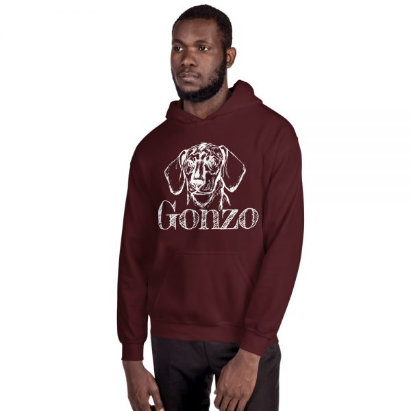 Gonzo The Dog Classic Hoodie 6