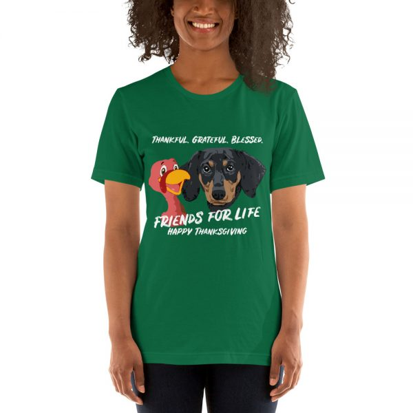 Friends For Life Thanksgiving T-Shirt 1