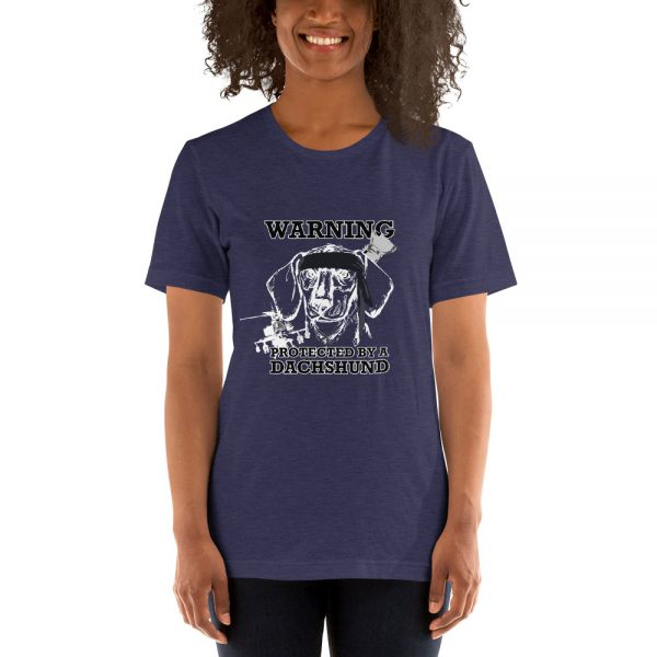 Protected by a Dachshund T-Shirt 2
