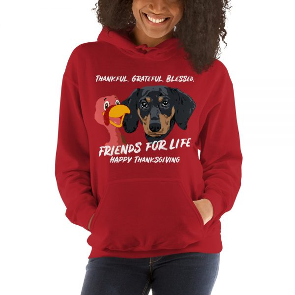 Friends For Life Thanksgiving Hoodie 5