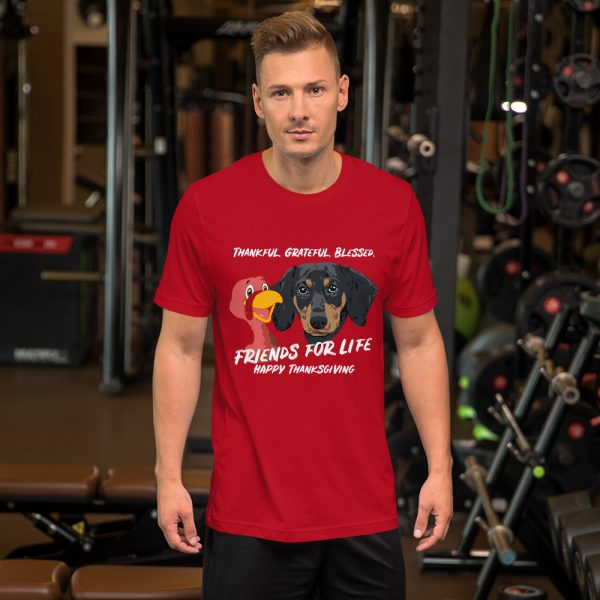 Friends For Life Thanksgiving T-Shirt 4