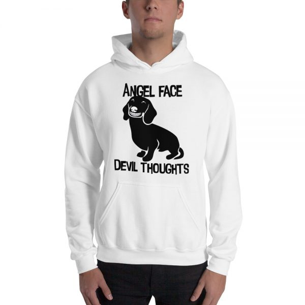 Angel Face Devil Thoughts Hoodie 5