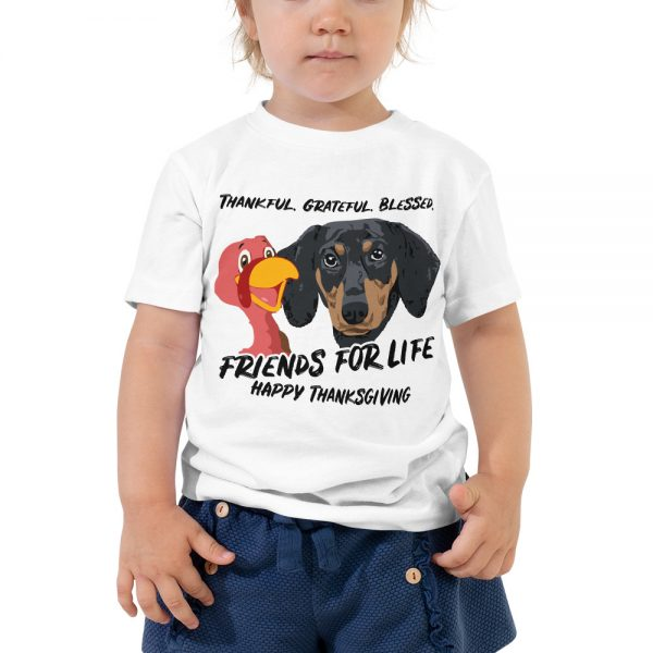 Friends For Life Thanksgiving Toddler T-Shirt 1