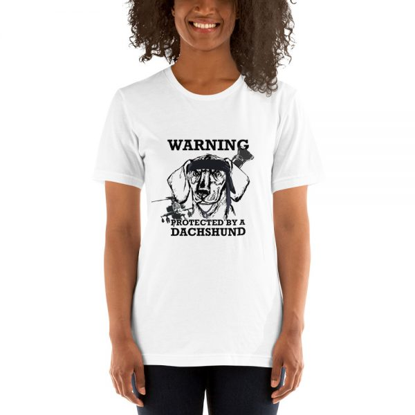 Protected by a Dachshund T-Shirt 6
