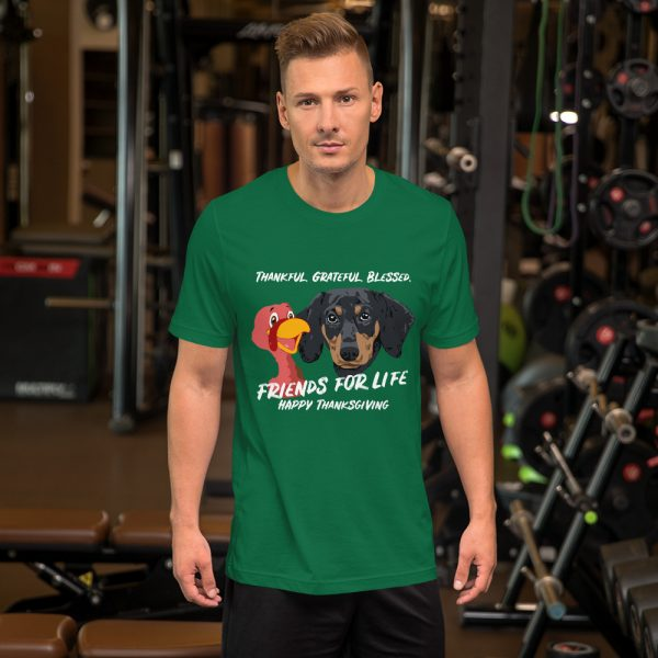 Friends For Life Thanksgiving T-Shirt 2