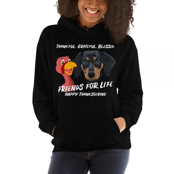 Friends For Life Thanksgiving Hoodie 3