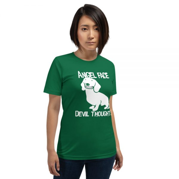 Angel Face Devil Thoughts T-Shirt 3