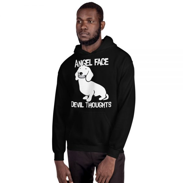 Angel Face Devil Thoughts Hoodie 2