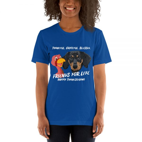 Friends For Life Thanksgiving T-Shirt 3