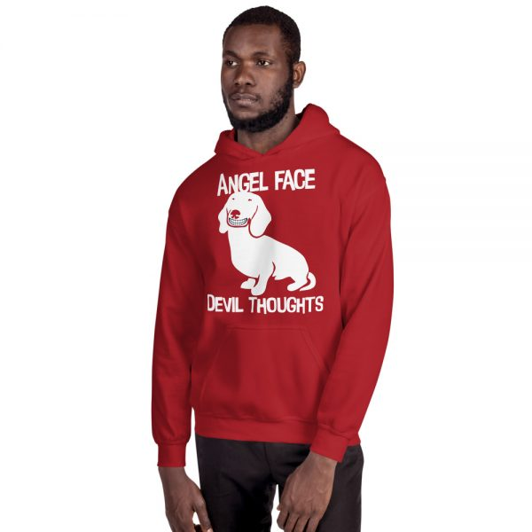 Angel Face Devil Thoughts Hoodie 6