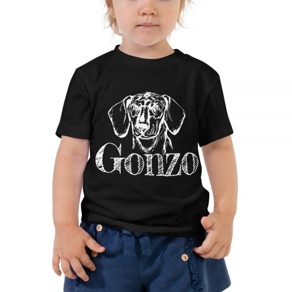 Gonzo The Dog Toddler T-Shirt 3