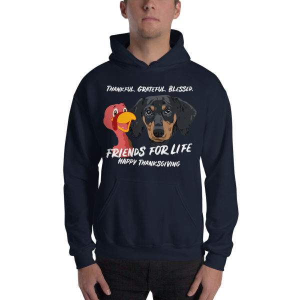 Friends For Life Thanksgiving Hoodie 2