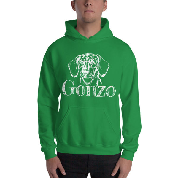 Gonzo The Dog Classic Hoodie 1