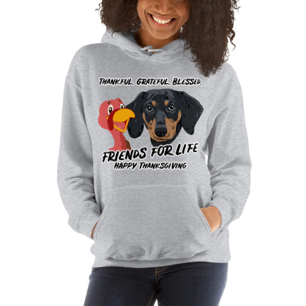Friends For Life Thanksgiving Hoodie 7