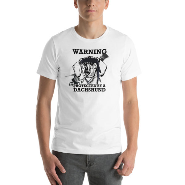 Protected by a Dachshund T-Shirt 4