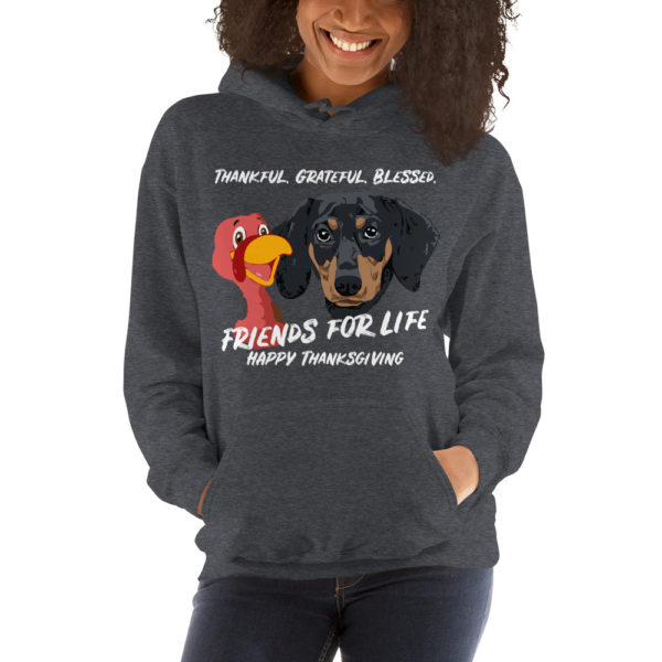 Friends For Life Thanksgiving Hoodie 1